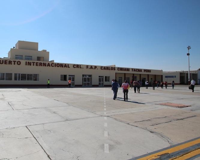 ペルー最南端の空港 タクナ