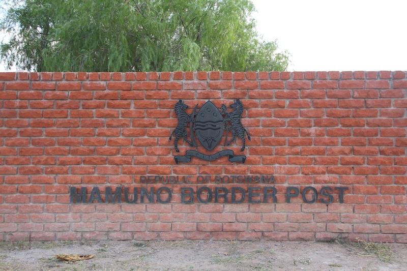 ボツワナ入国