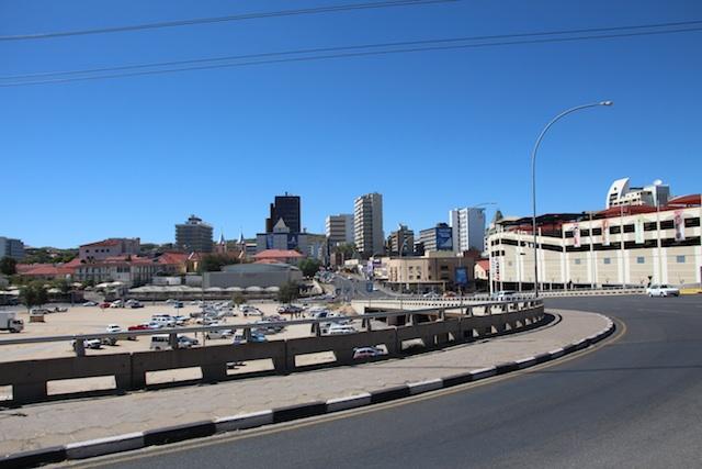 ナミビアの街