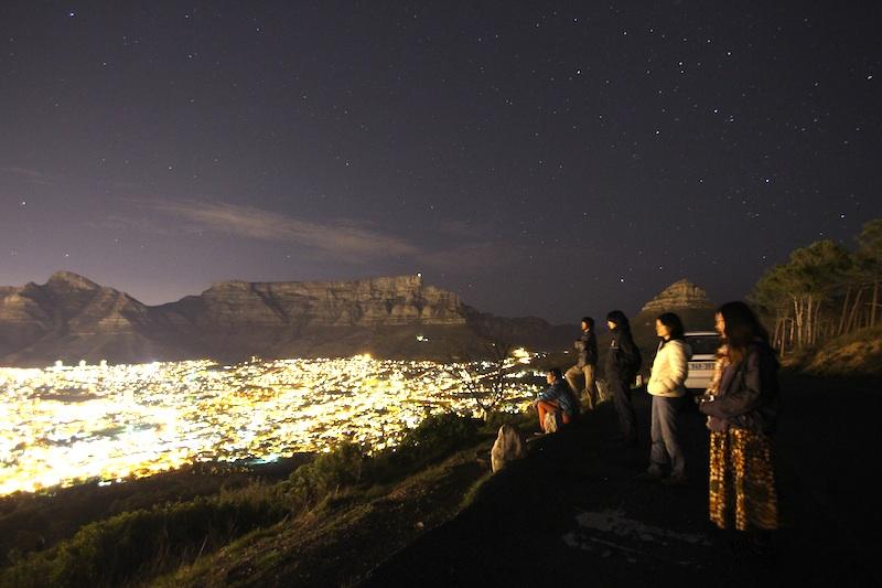 南アフリカ夜景