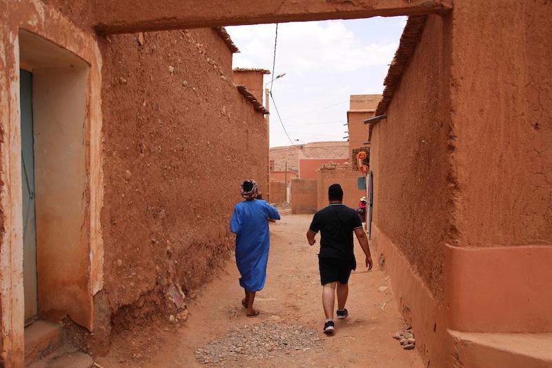 3城への道