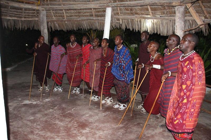 マサイ族ダンス