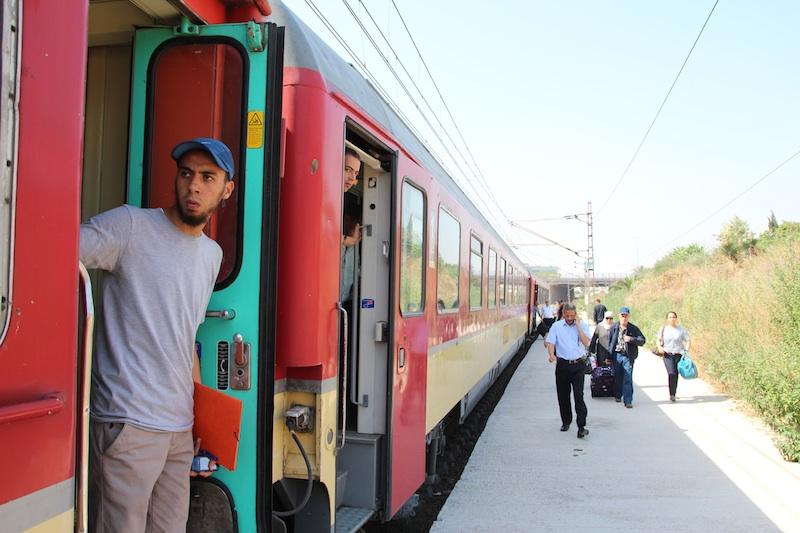 3電車モロッコ