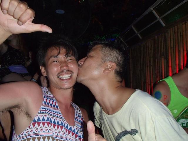 雄二へキス